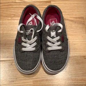Gray Vans Shoes size 11